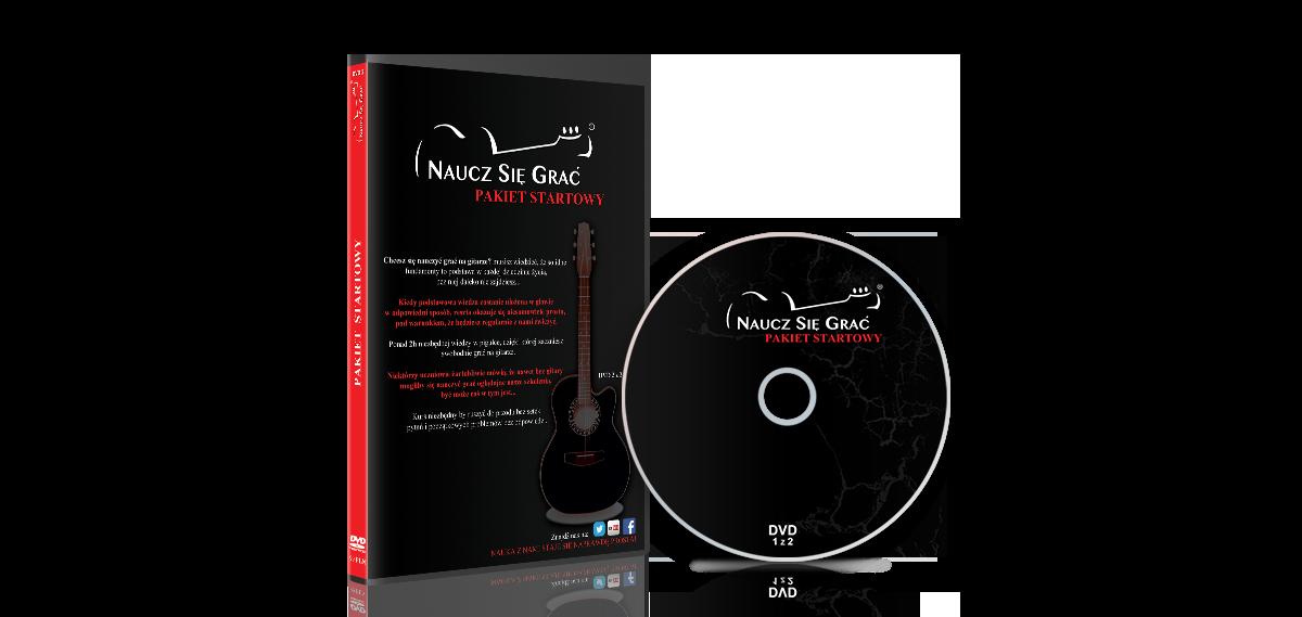Grafika komputerowa Geek Imagination - Okładka kursu gitarowego Naucz się grać