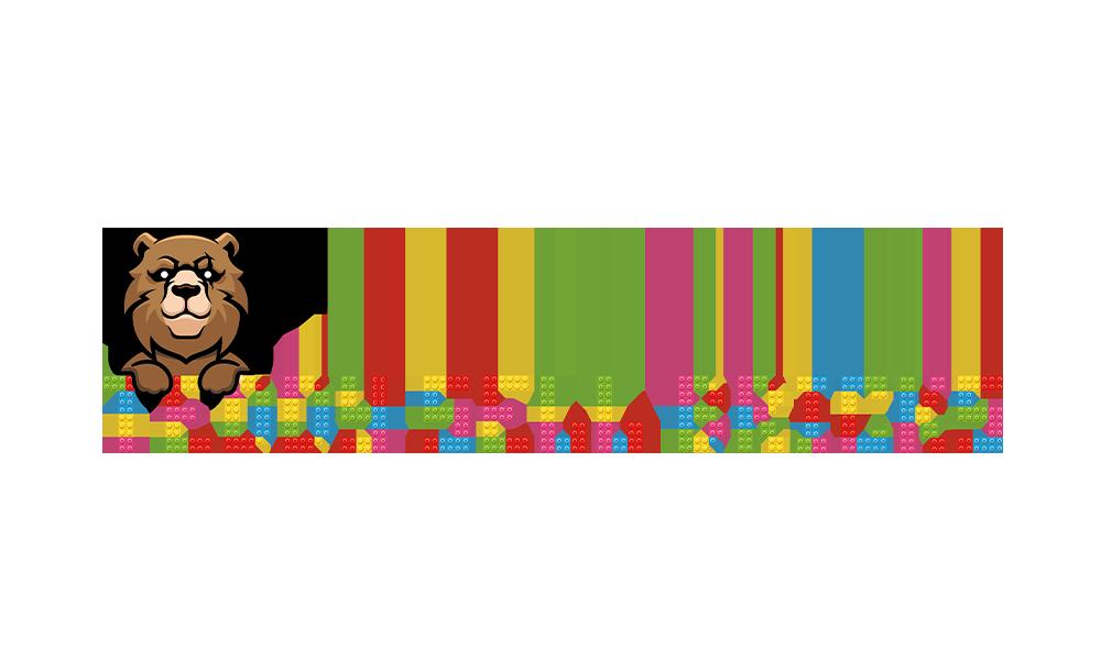 Grafika komputerowa Geek Imagination - Logo Teddy sell bricks