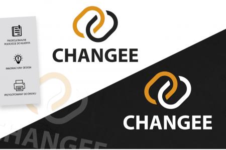 Grafika komputerowa Geek Imagination - Logotyp trenera personalnego Changee