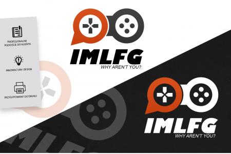 Grafika komputerowa Geek Imagination - Logotyp portalu dla graczy IMLFG