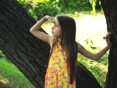 Portfolio - Fotografia Geek Imagination - Dziewczynka w parku