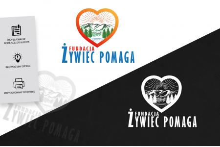 Grafika komputerowa Geek Imagination - Logo / Logotyp Fundacji Żywiec POMAGA