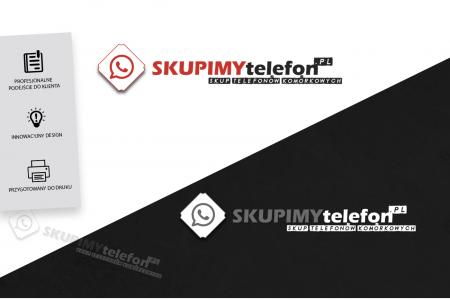 Grafika komputerowa Geek Imagination - Logotyp / Logo firma - Skupimytelefon.pl